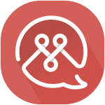 TutorMandarin Press Kit - App logo red
