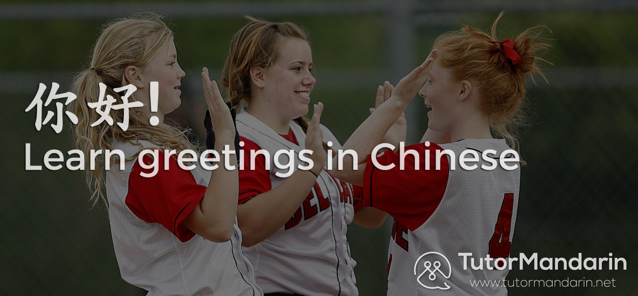 Greetings friends in Chinese