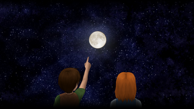 Chinese superstition- pointing at the moon 1-on-1 online Chinese lessons