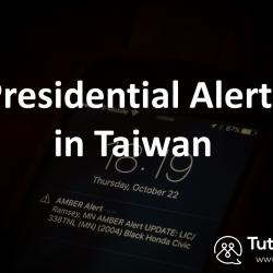 Taiwan typhoon alert