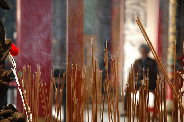 How to hold the incenses 1-on-1 online chinese lessons