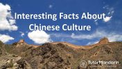 interesting chinese culture facts