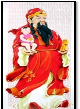 fu xing god that provides wealth and abundance
