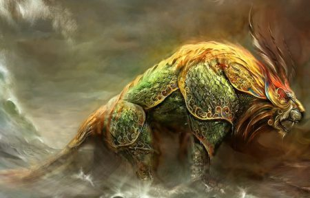 Nian Chinese mystical creature