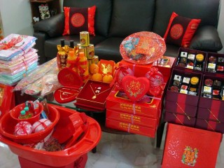 the chinese wedding gifts