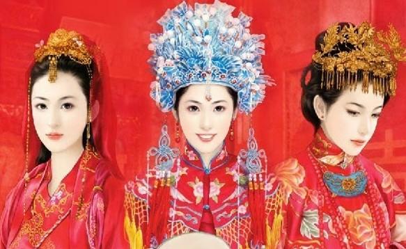 Chinese wedding attire
