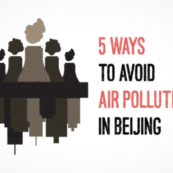 avoid air pollution in china