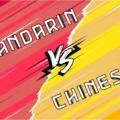 mandarin and chinese